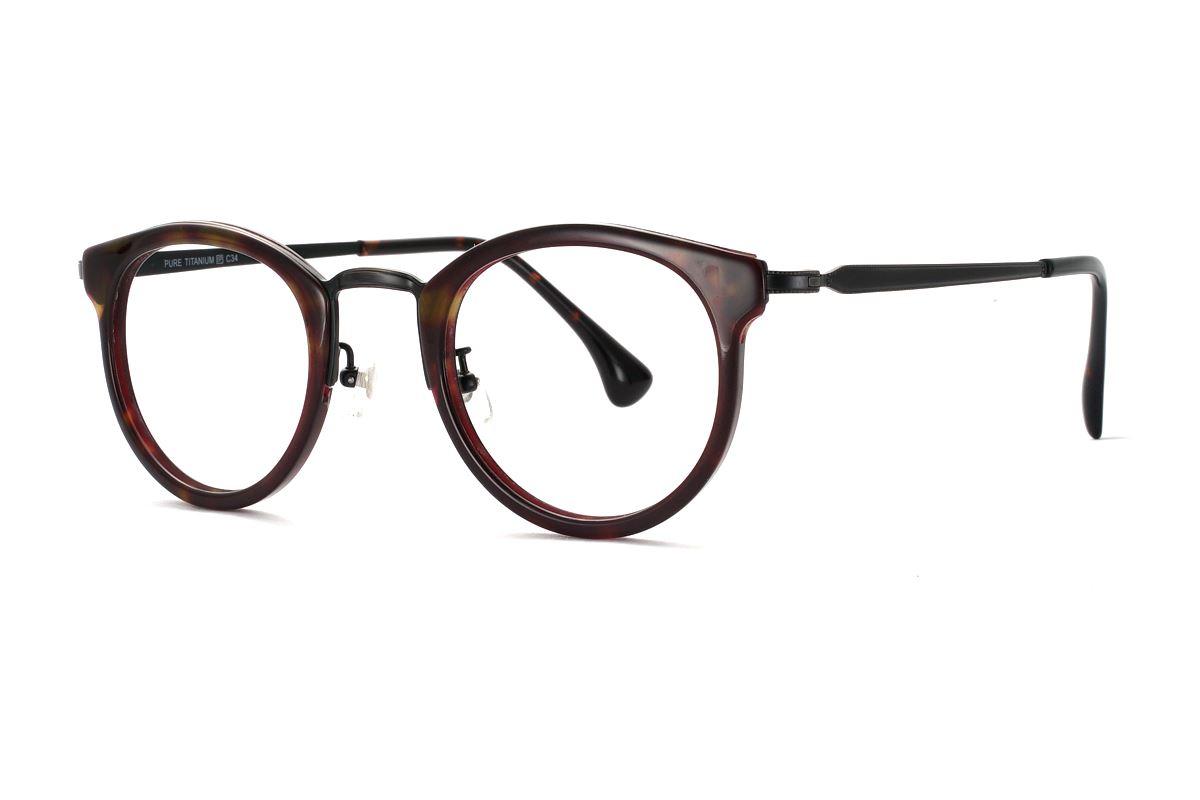 嚴選複合質感眼鏡 J85157-C341