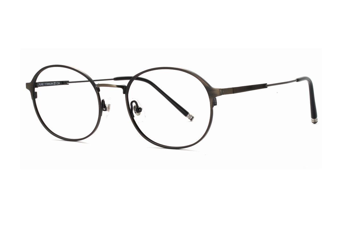 质感钛眼镜 J85052-C341
