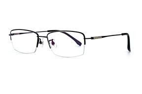 眼鏡鏡框-嚴選高質感純鈦眼鏡 J85403-C2-4