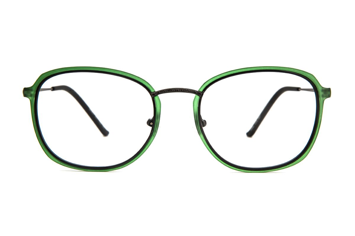 嚴選複合質感眼鏡 M067-0072