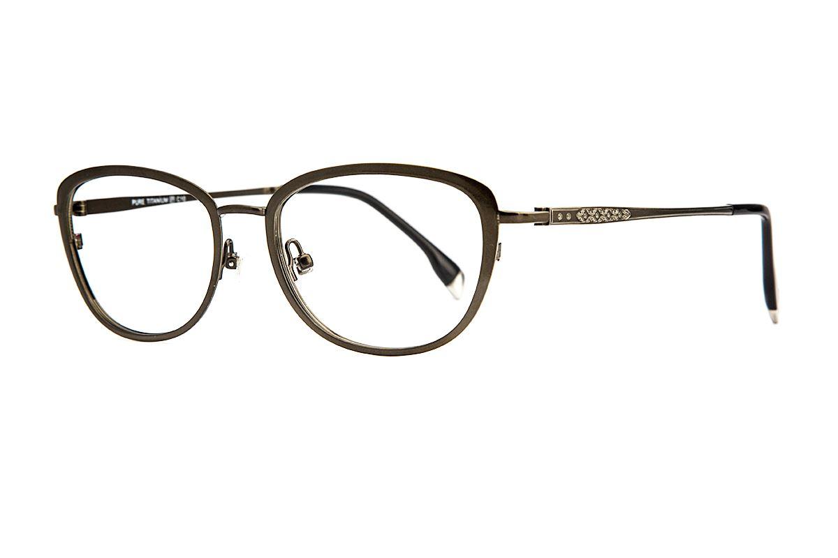 嚴選高質感純鈦眼鏡 J82218-C101