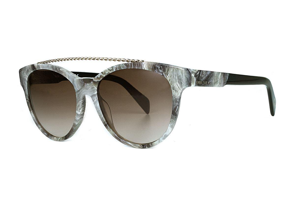 DIESEL 大理石太阳眼镜 DL0189-20K1