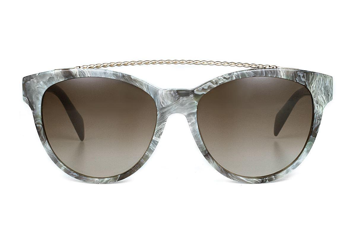 DIESEL 大理石太阳眼镜 DL0189-20K2