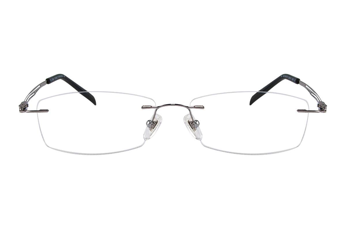 嚴選高質感純鈦眼鏡 11292-SI2