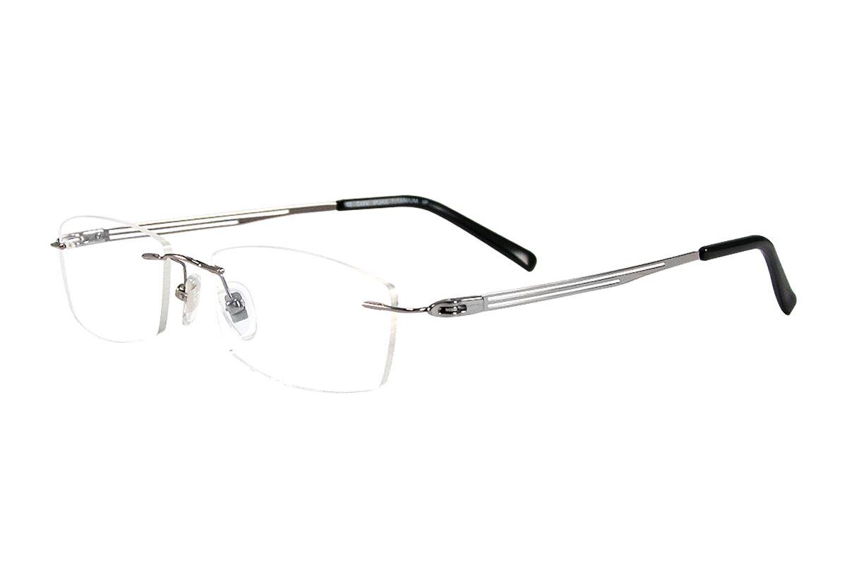 嚴選高質感純鈦眼鏡 11292-SI1