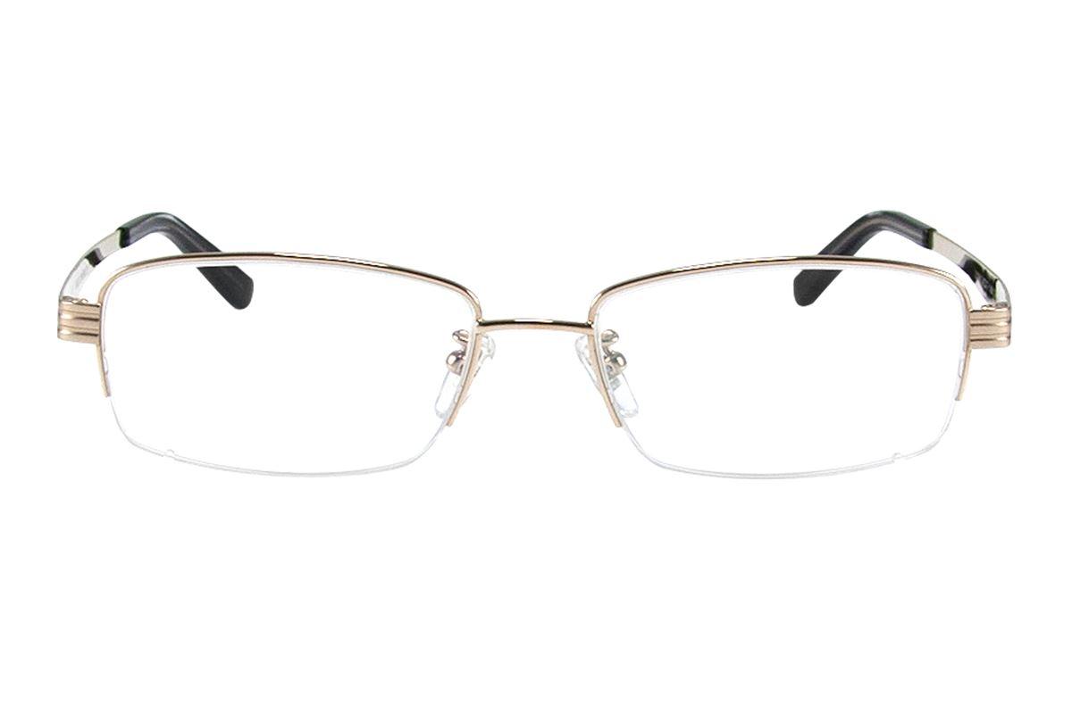 严选高质感纯钛眼镜 11268-GO2