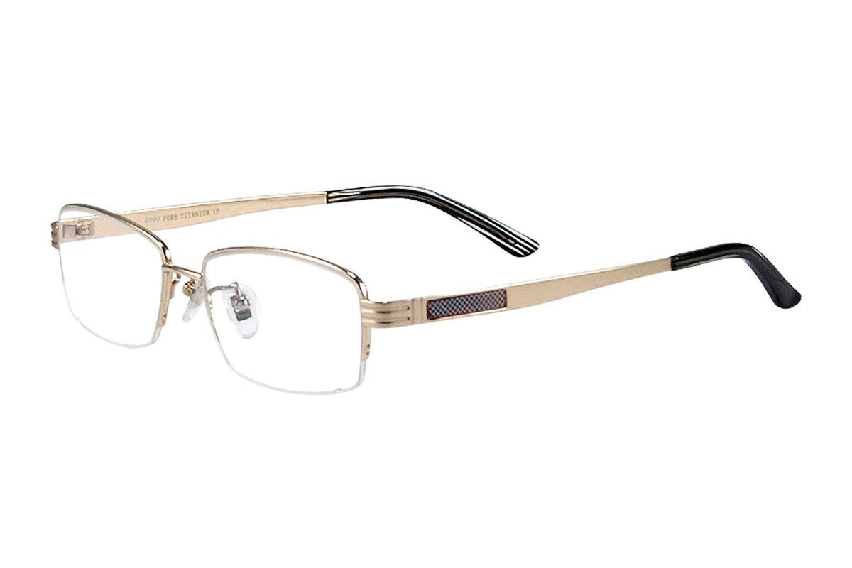 严选高质感纯钛眼镜 11268-GO1