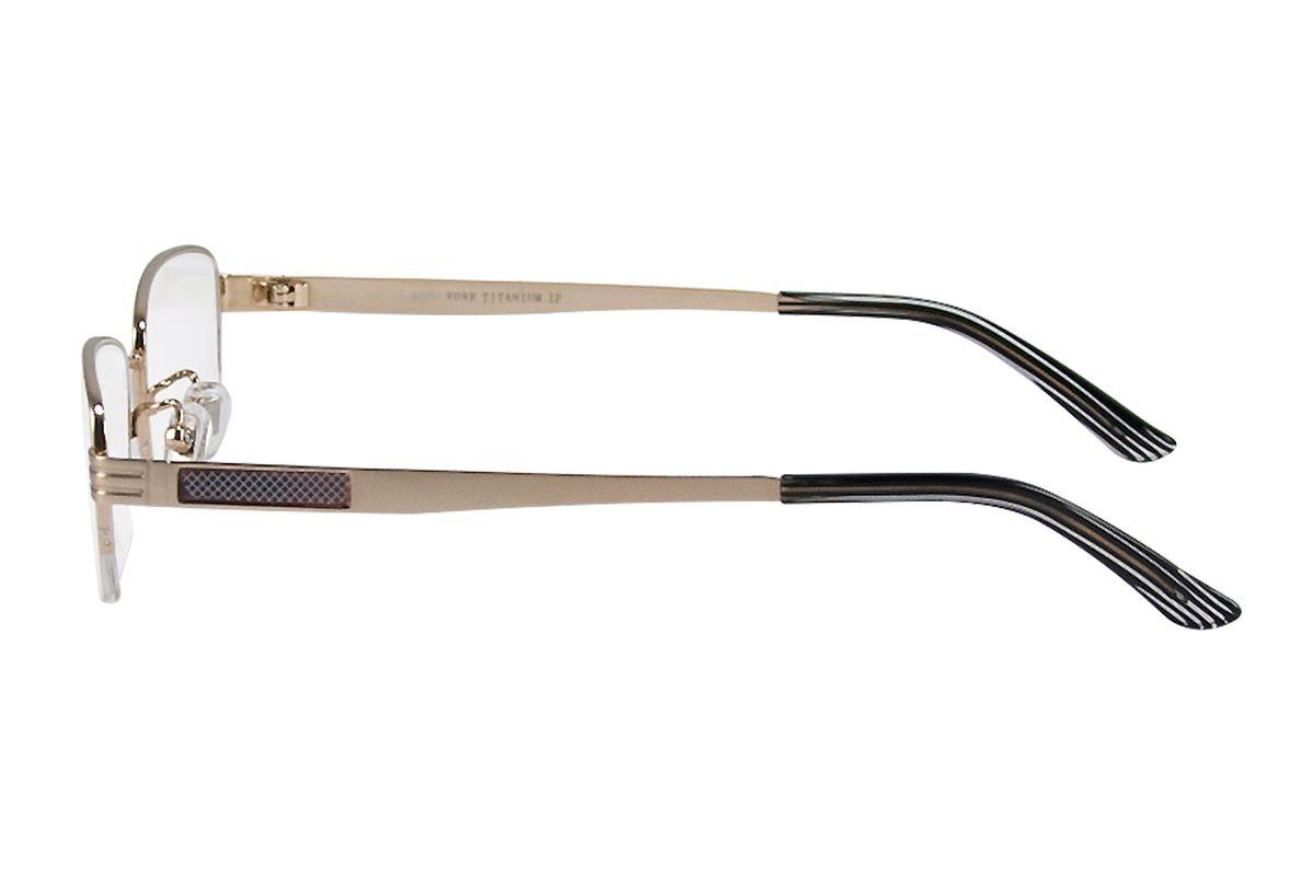 严选高质感纯钛眼镜 11268-GO3