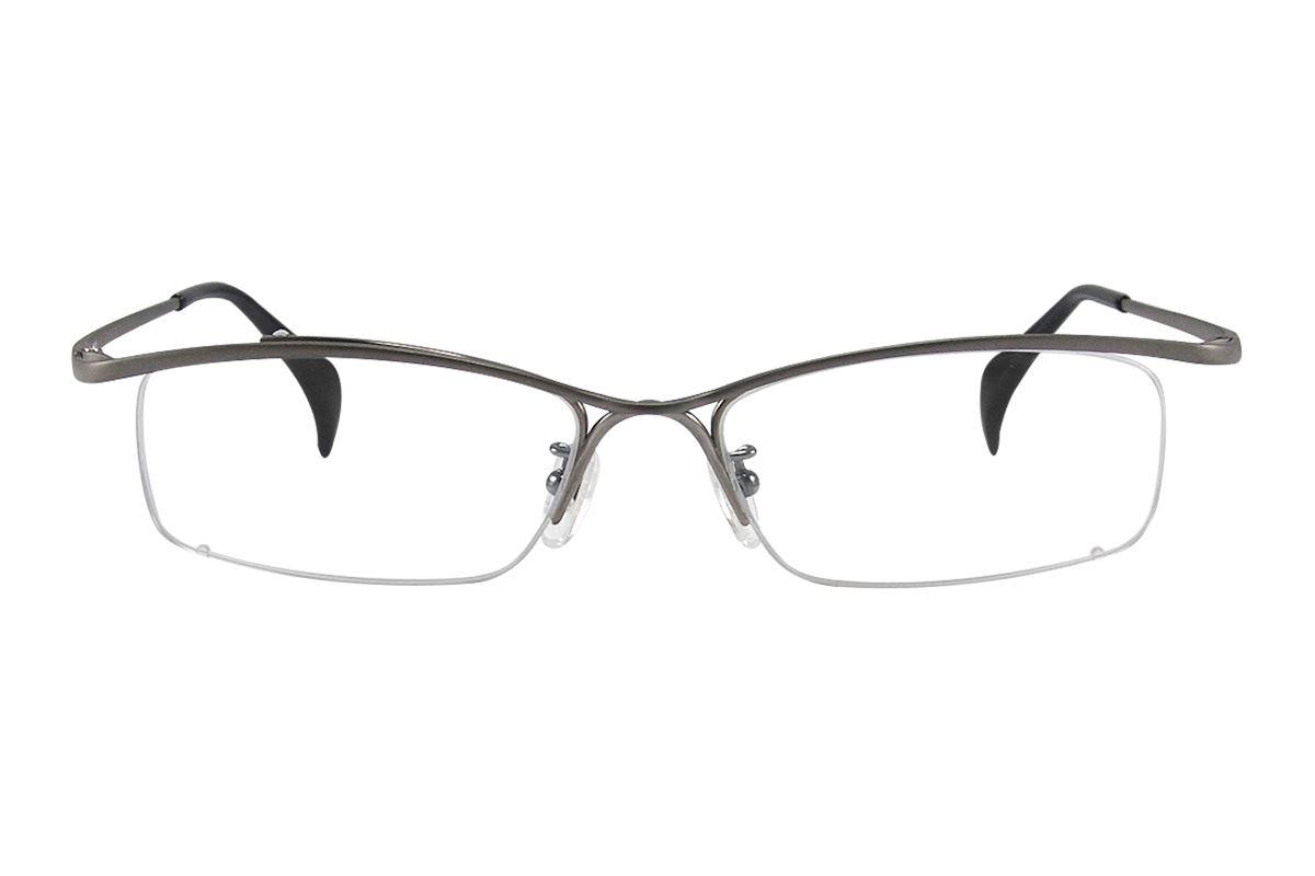 嚴選高質感鈦眼鏡 663-C82