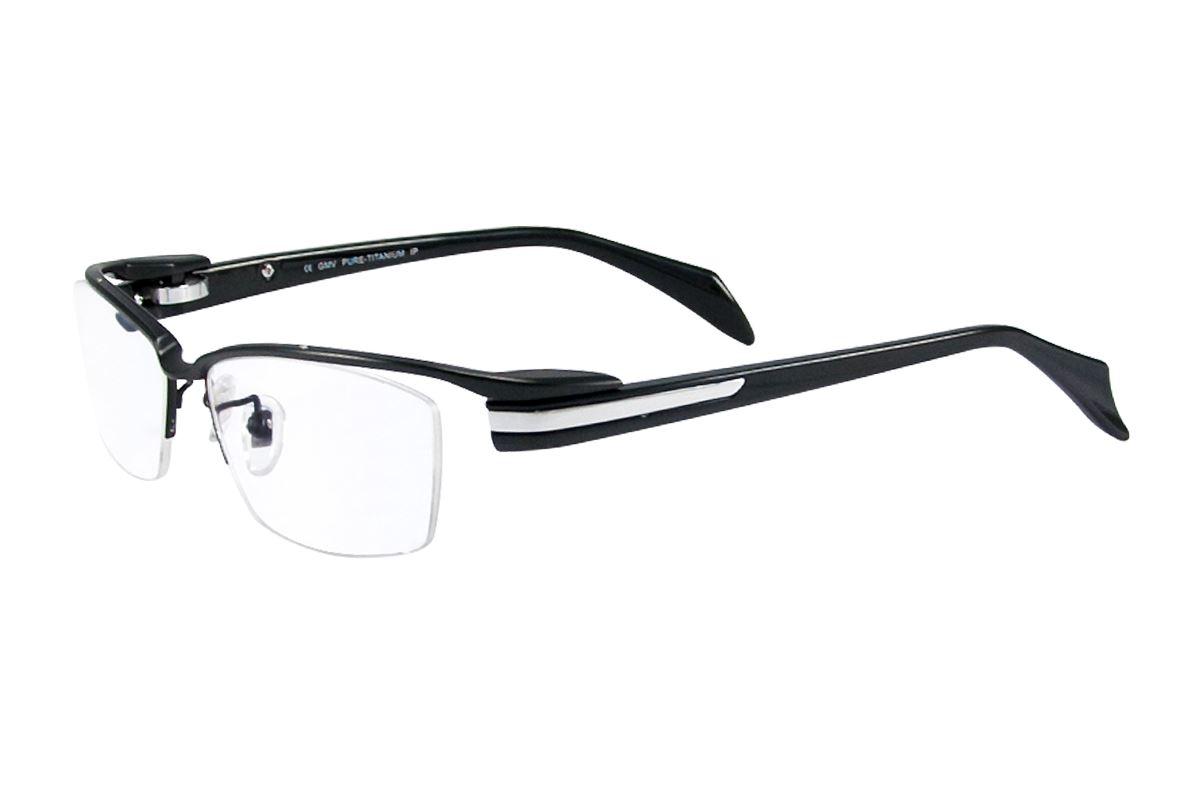 严选高质感纯钛眼镜 11298-BA1