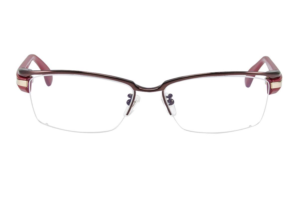 嚴選高質感純鈦眼鏡 11298-RE2