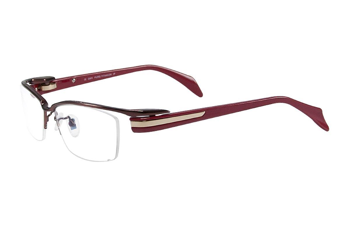 嚴選高質感純鈦眼鏡 11298-RE1