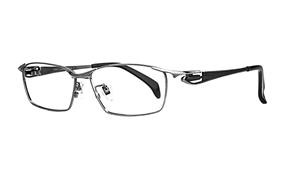 眼鏡鏡框-嚴選高質感純鈦眼鏡 11483-C8