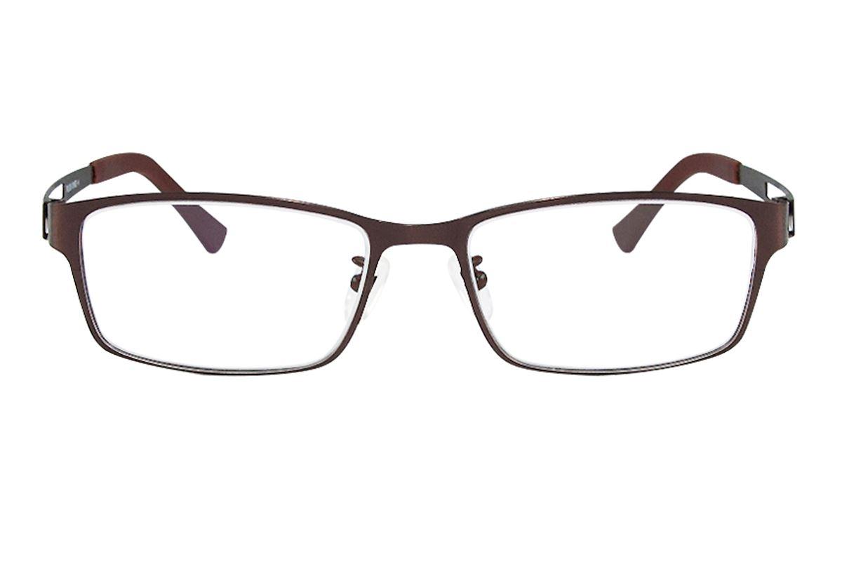 严选高质感纯钛眼镜 P6005-BO2