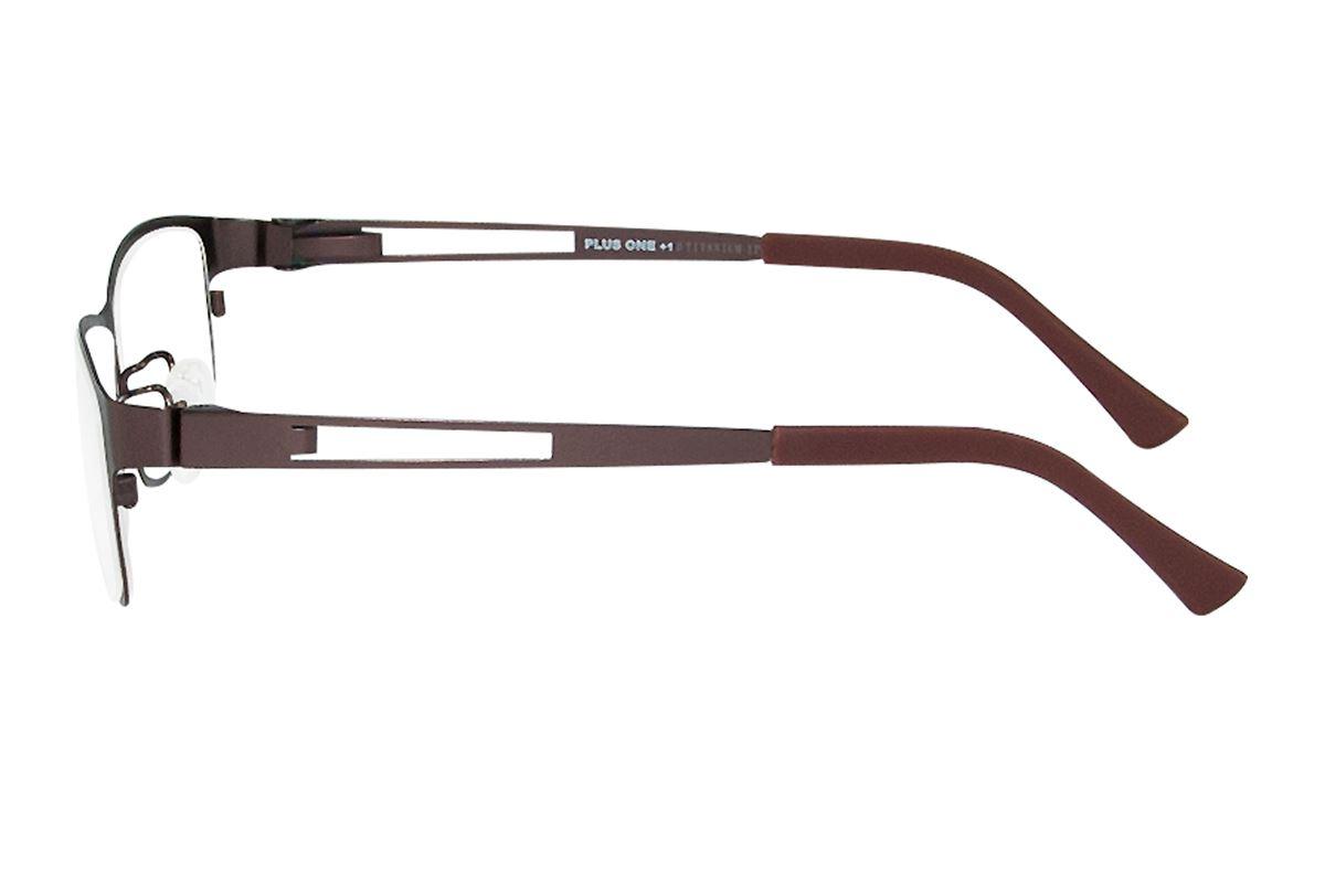 严选高质感纯钛眼镜 P6005-BO3