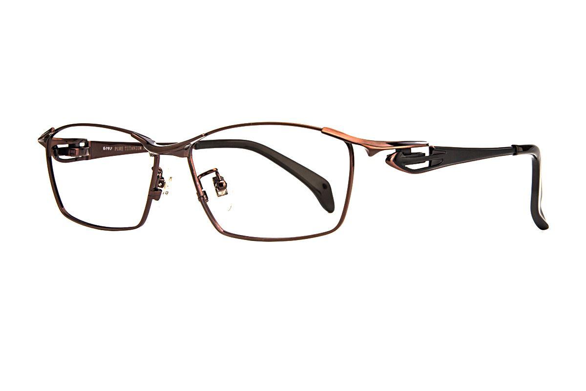 严选高质感纯钛眼镜 11483-C91