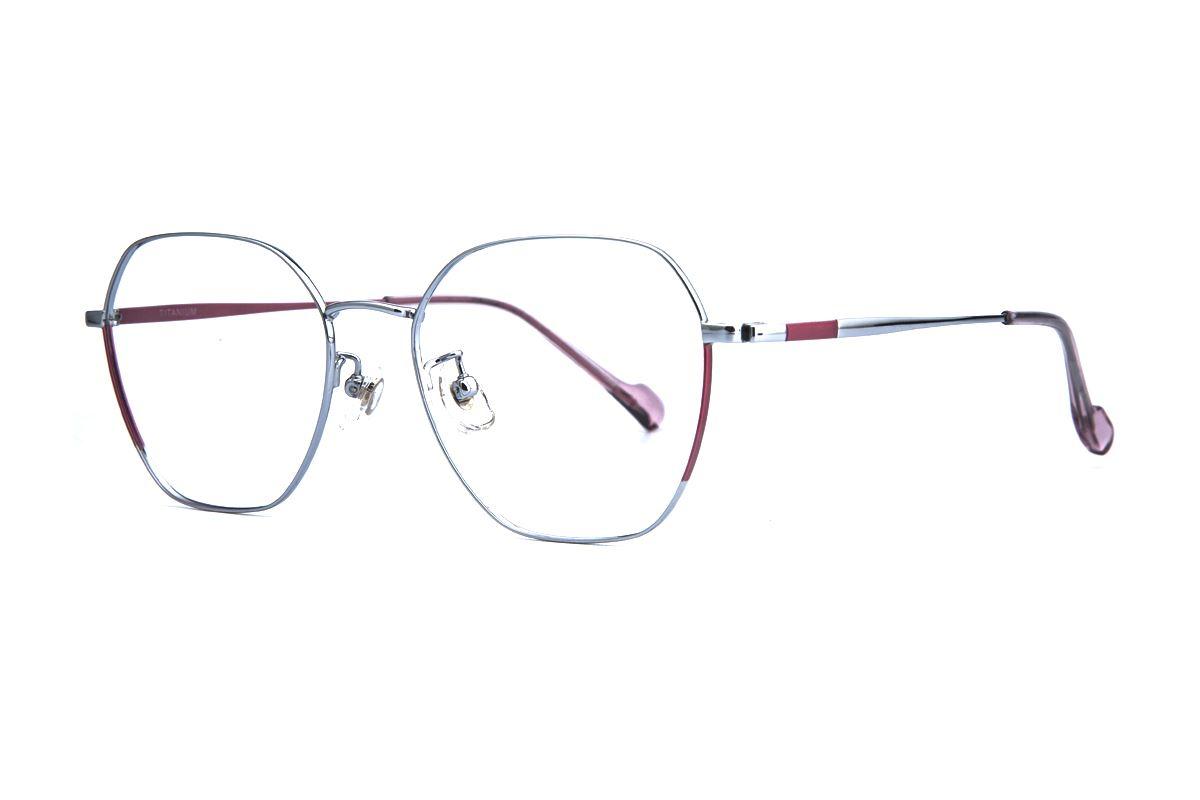 稜角鈦細框眼鏡 8158-C31