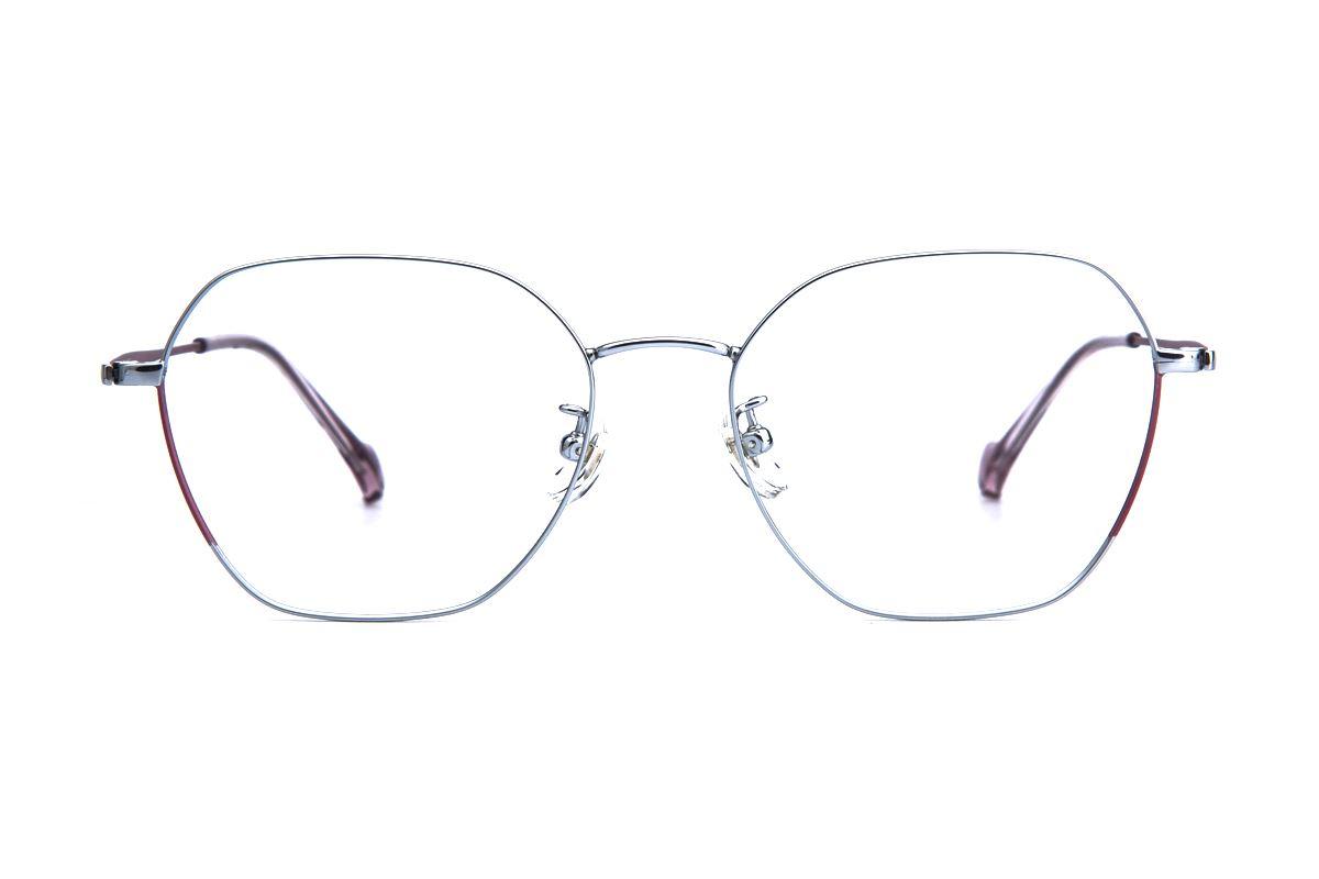 稜角鈦細框眼鏡 8158-C32