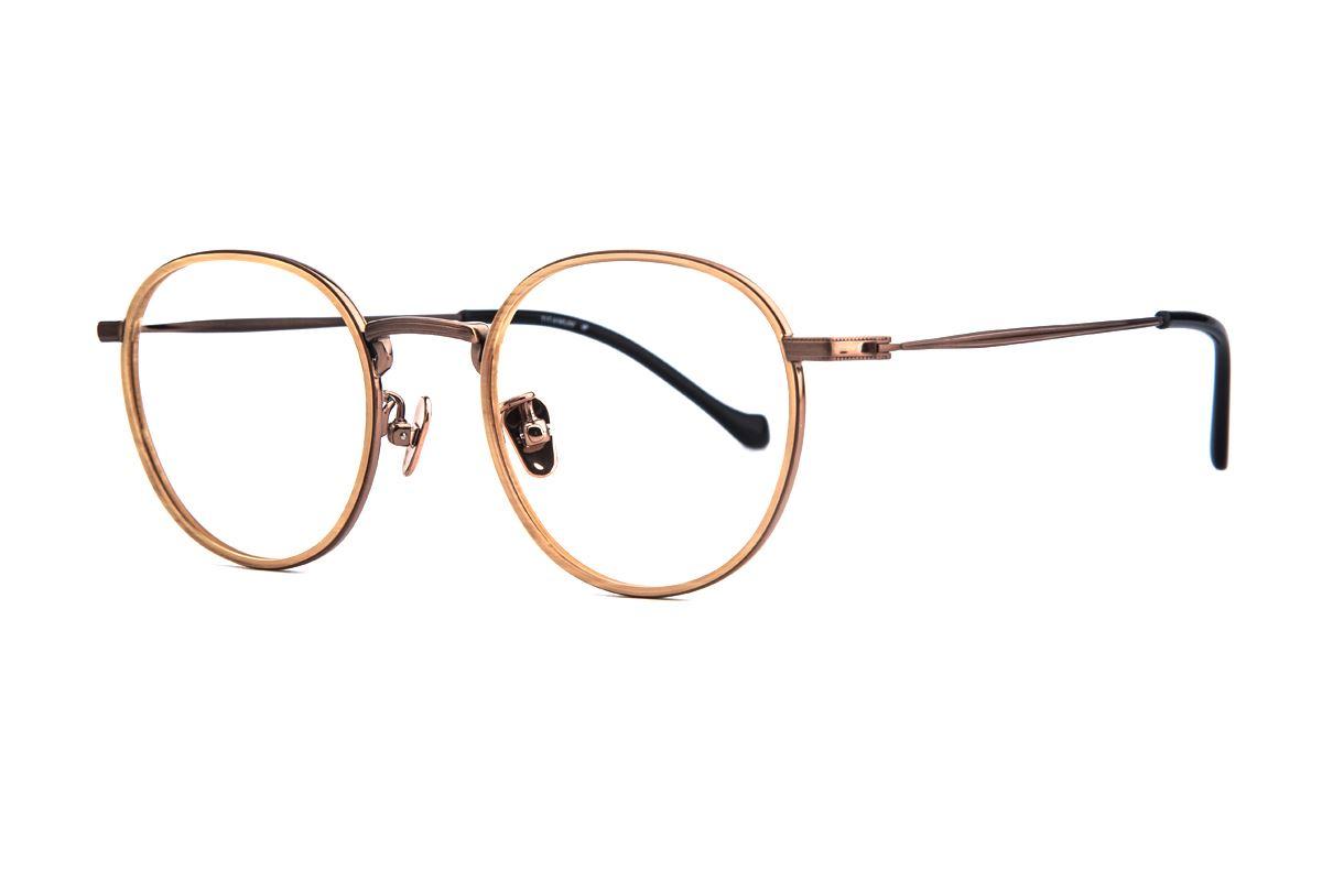 嚴選經典鈦眼鏡 5501-C41