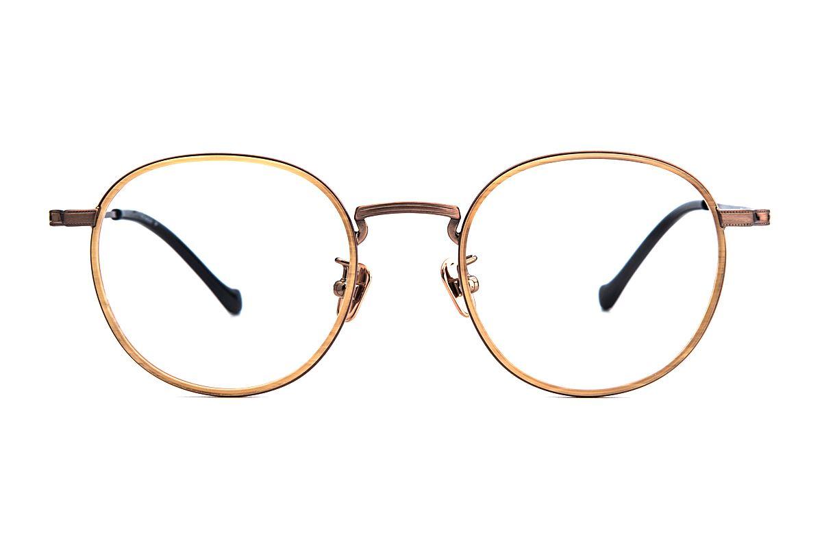 嚴選經典鈦眼鏡 5501-C42