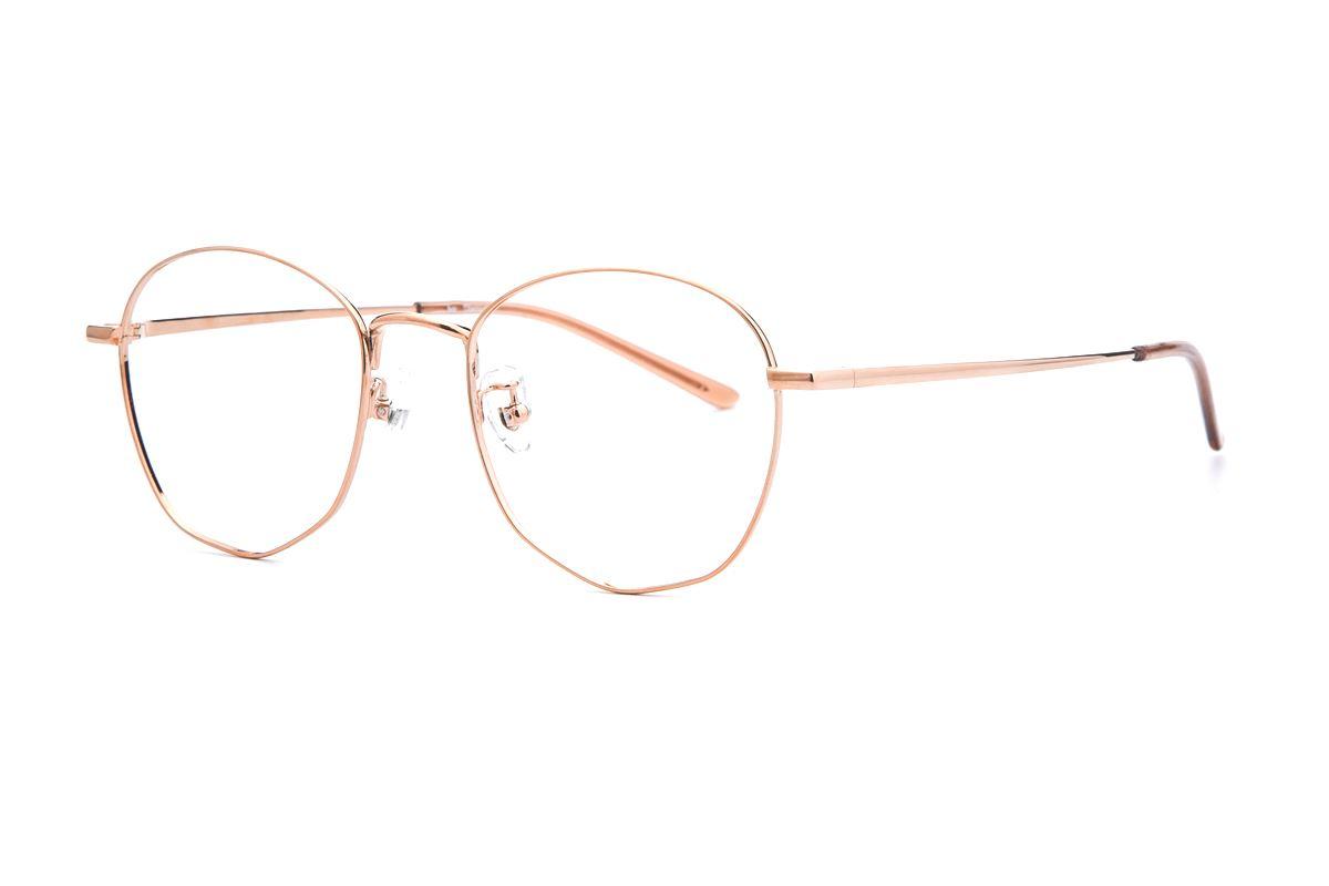 復古鈦細框眼鏡 9065-C331