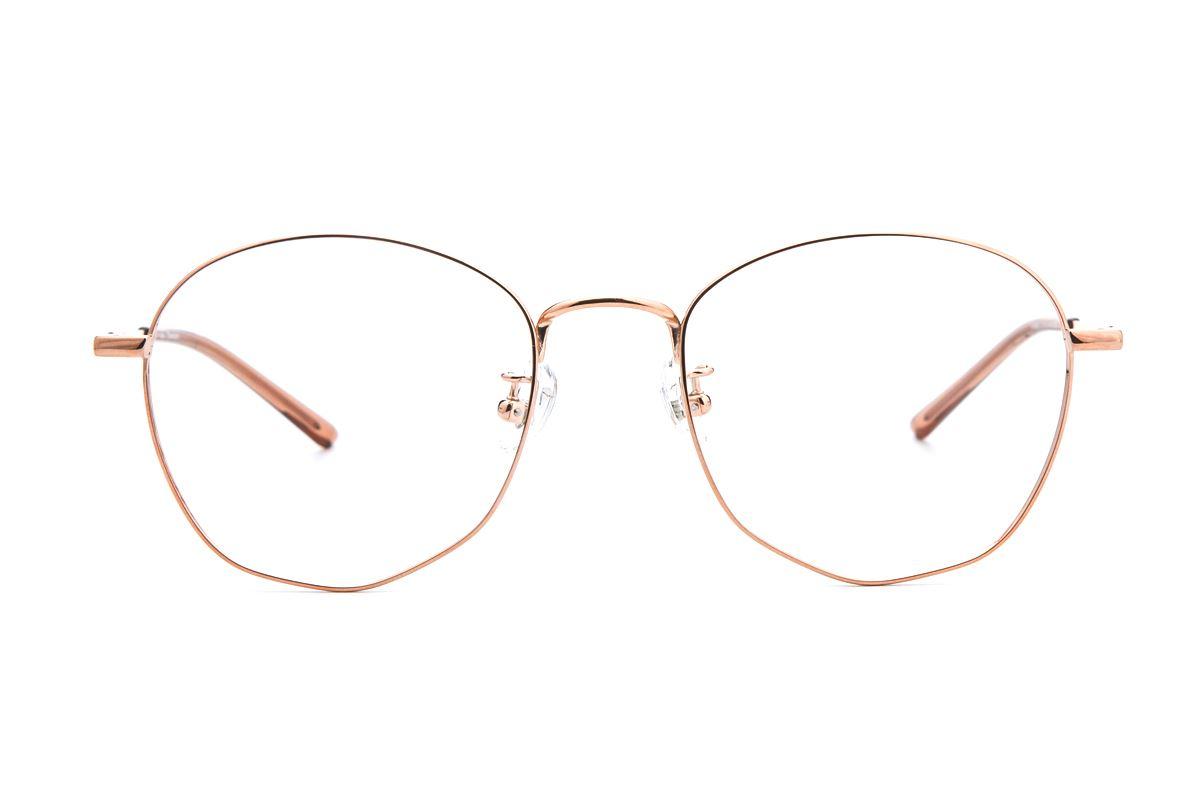 復古鈦細框眼鏡 9065-C332