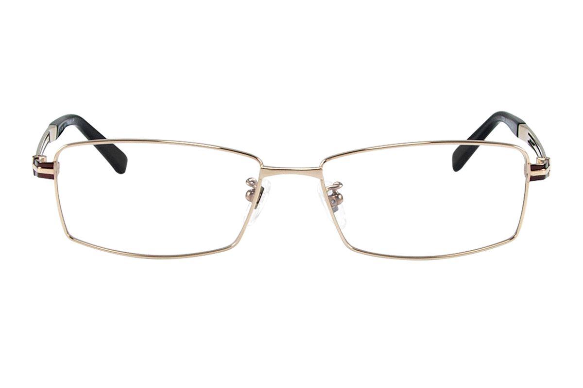 嚴選高質感純鈦眼鏡 11334-GO2