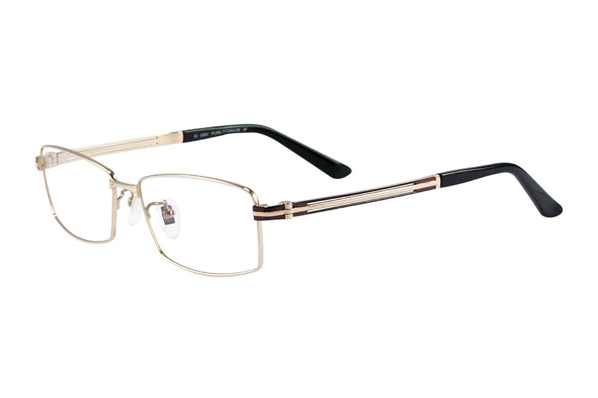 嚴選高質感純鈦眼鏡 11334-GO1