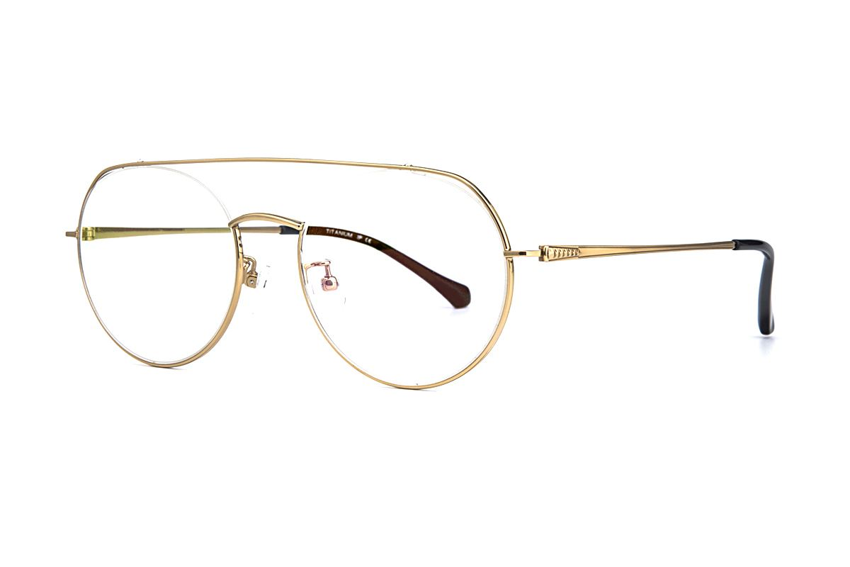 嚴選經典鈦眼鏡 6695-C101