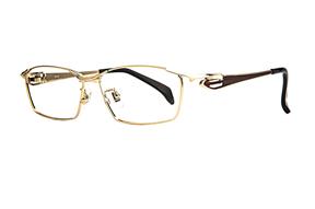 眼鏡鏡框-嚴選高質感純鈦眼鏡 11483-C1