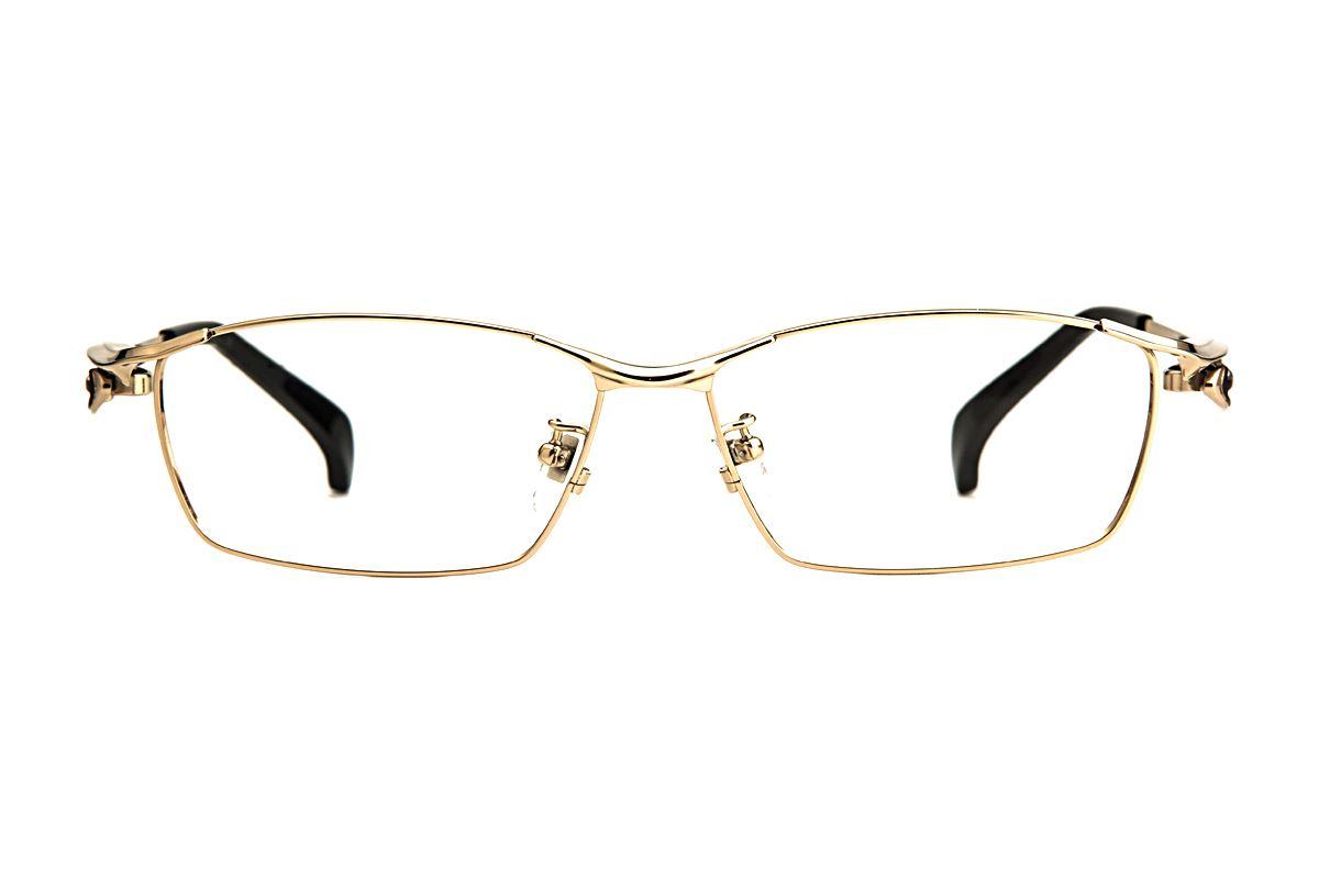 严选高质感纯钛眼镜 11483-C12