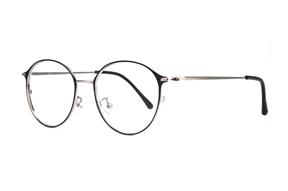 眼镜镜框-质感细圆框眼镜 9654-C3