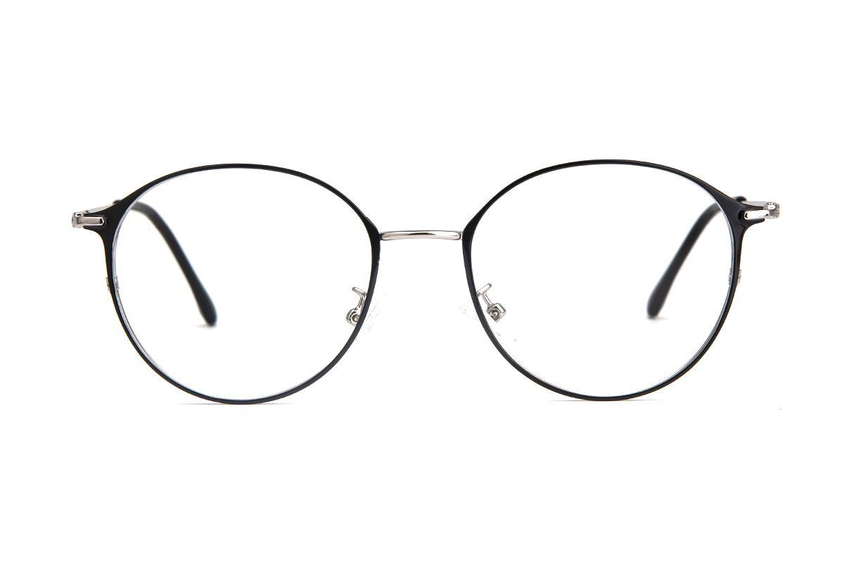 质感细圆框眼镜 9654-C32