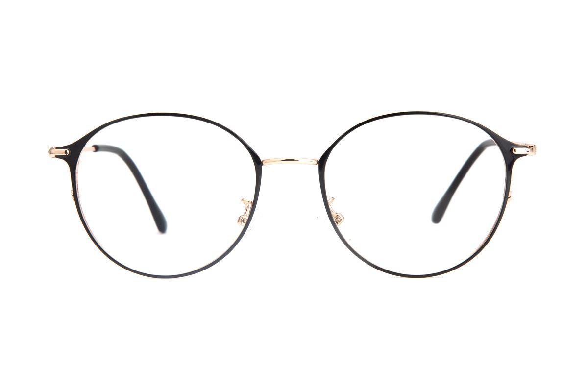 質感細圓框眼鏡 9654-C12