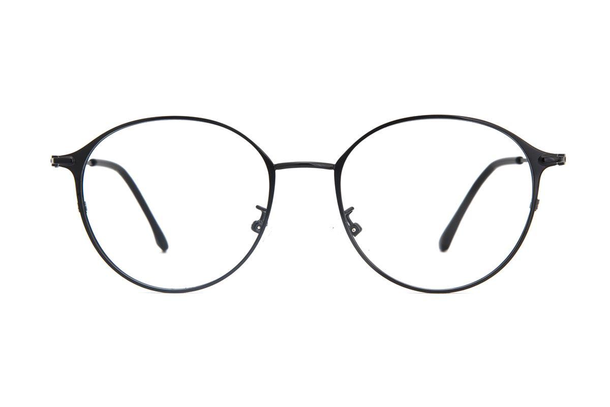 質感細圓框眼鏡 9654-C52