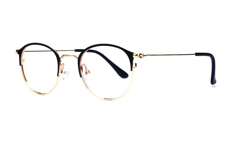 眉架質感眼鏡 58048-C61