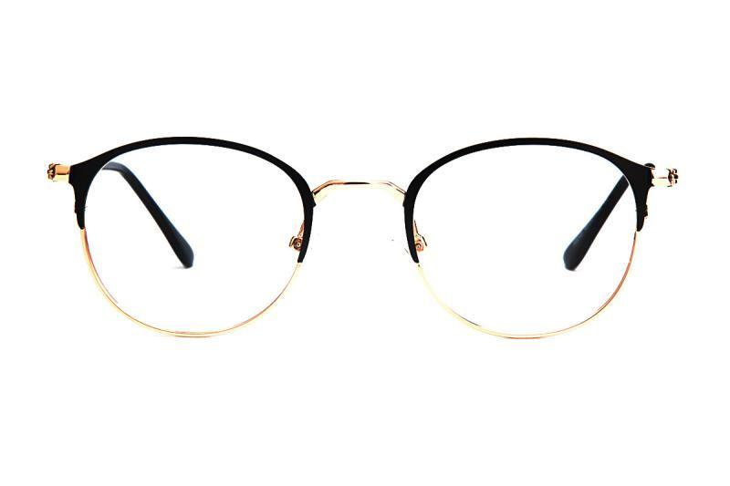 眉架質感眼鏡 58048-C62