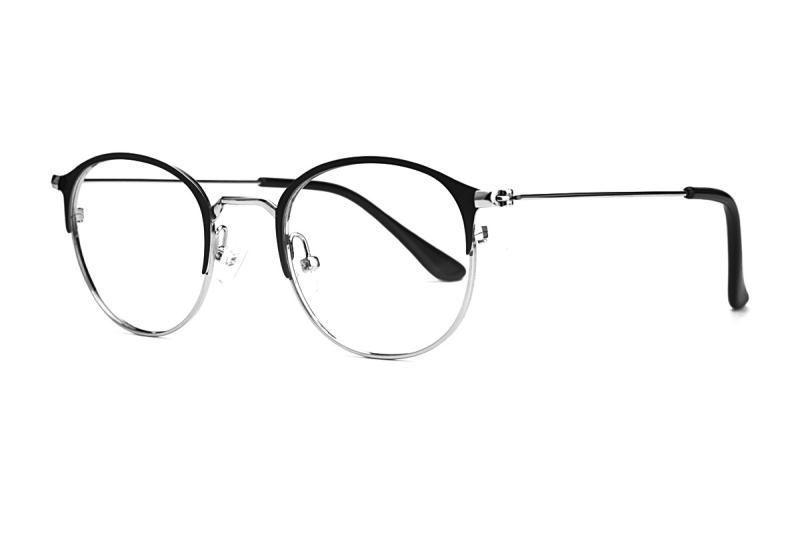 眉架质感眼镜 58048-C71