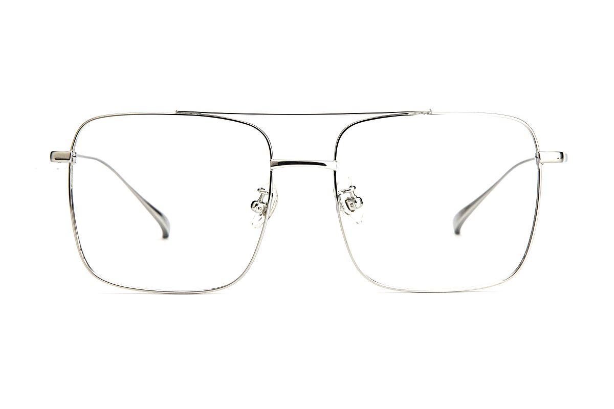复古钛细框眼镜 V9035-C22