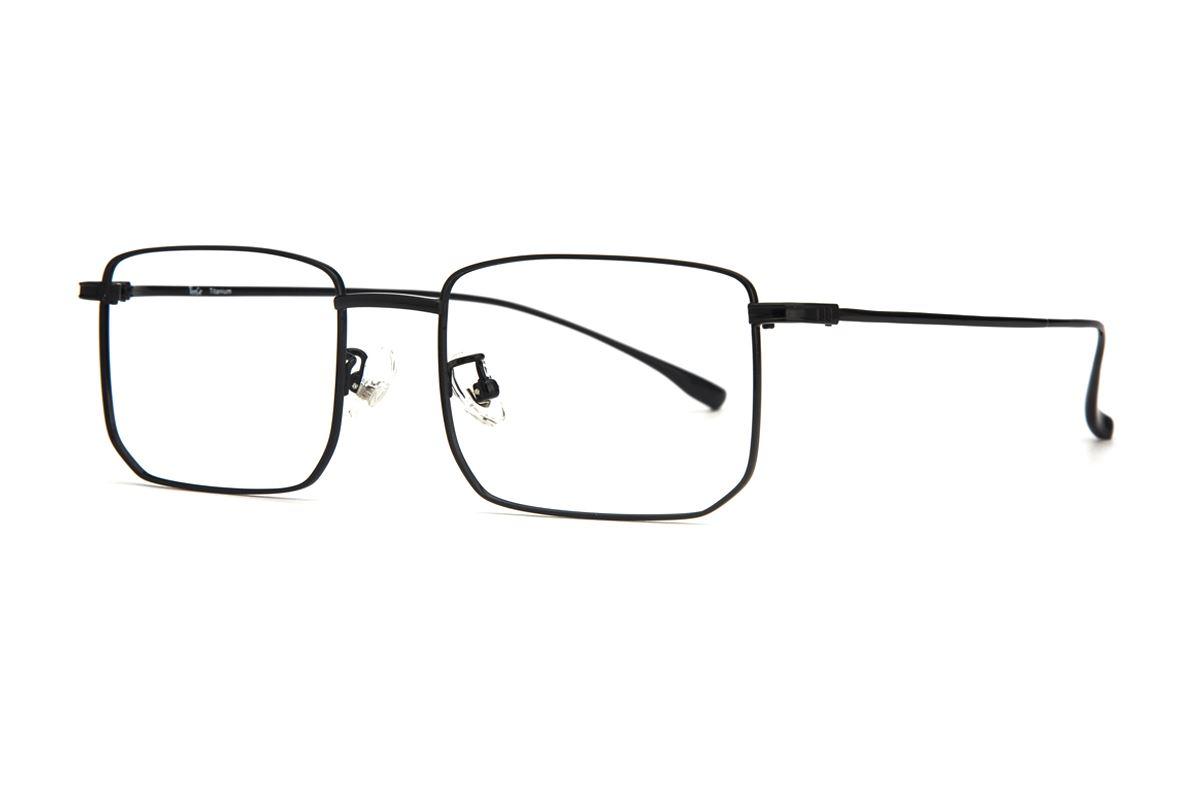 棱角钛细框眼镜 V9101-C381