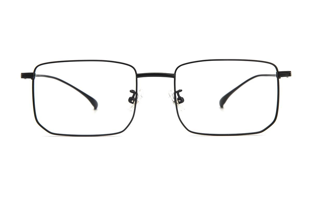 棱角钛细框眼镜 V9101-C382
