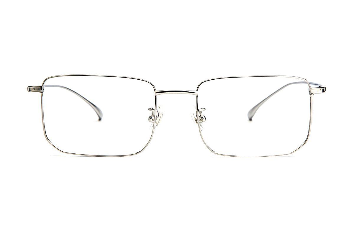 稜角鈦細框眼鏡 V9101-C22