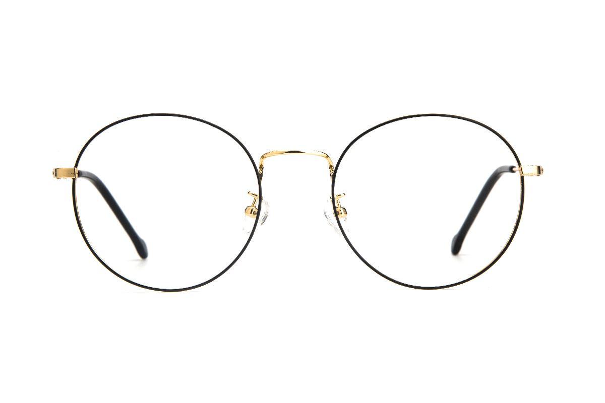 严选质感细框眼镜 5044-C1-42