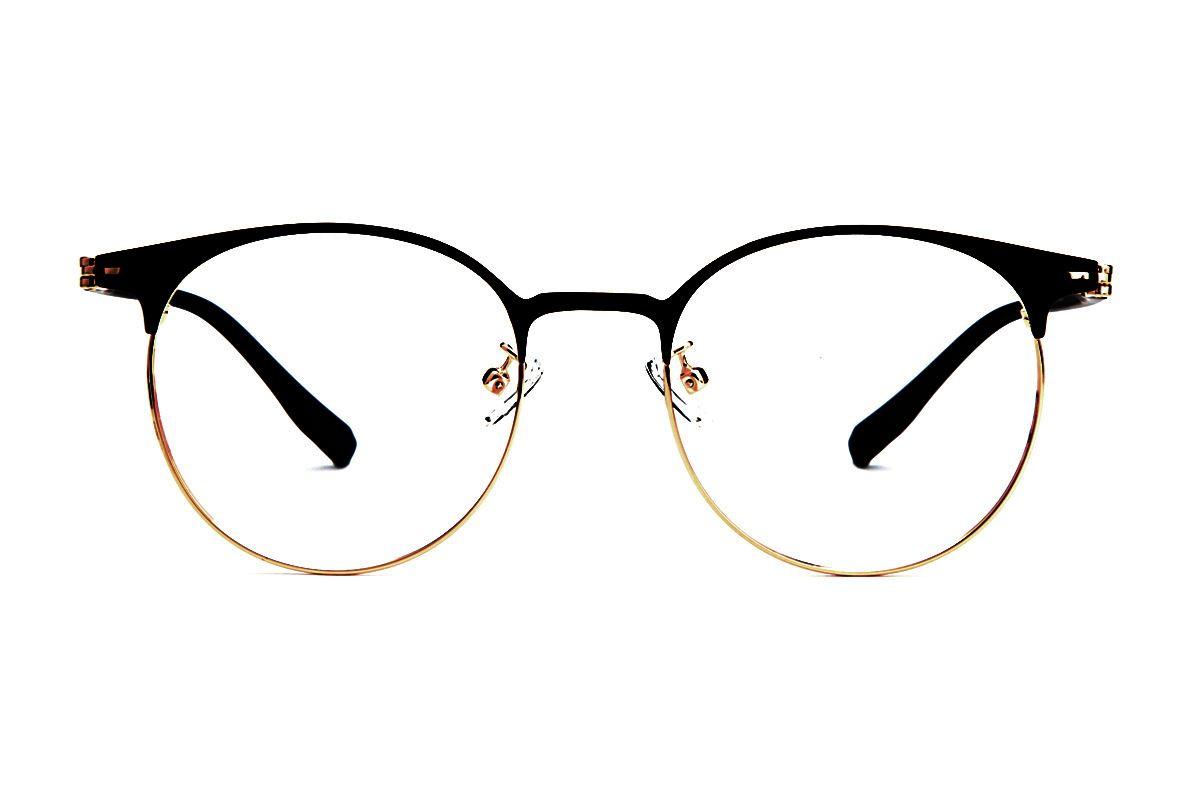 眉架质感眼镜 19200-C22