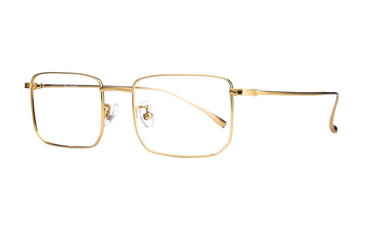 棱角钛细框眼镜 V9101-C31