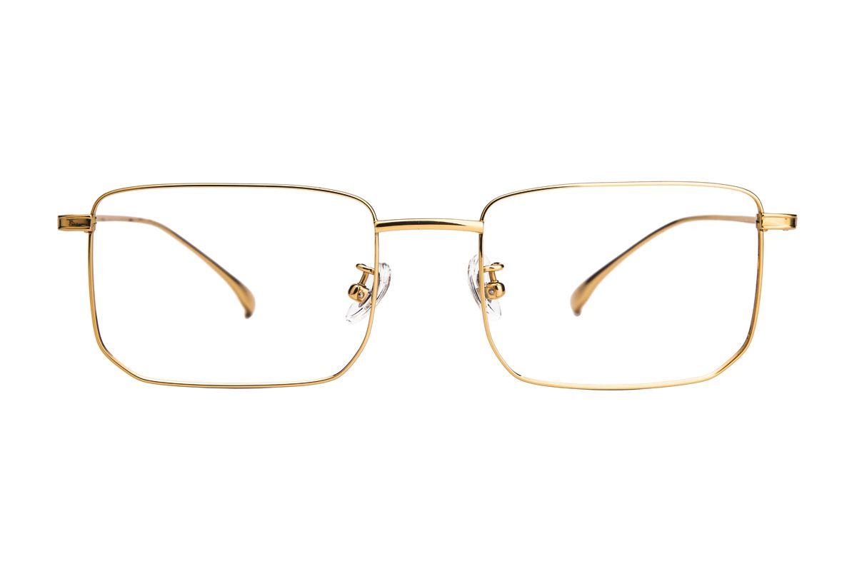 棱角钛细框眼镜 V9101-C32