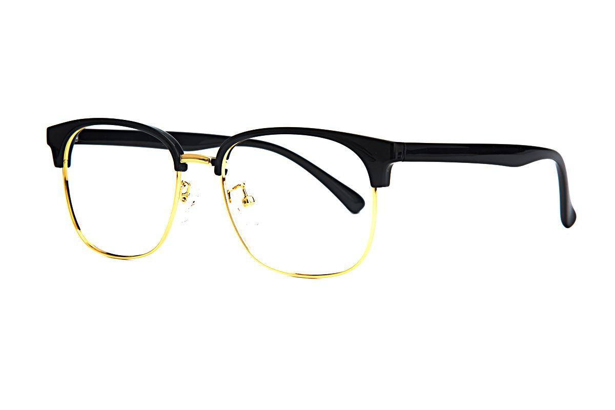 眉架质感眼镜 3038-C11