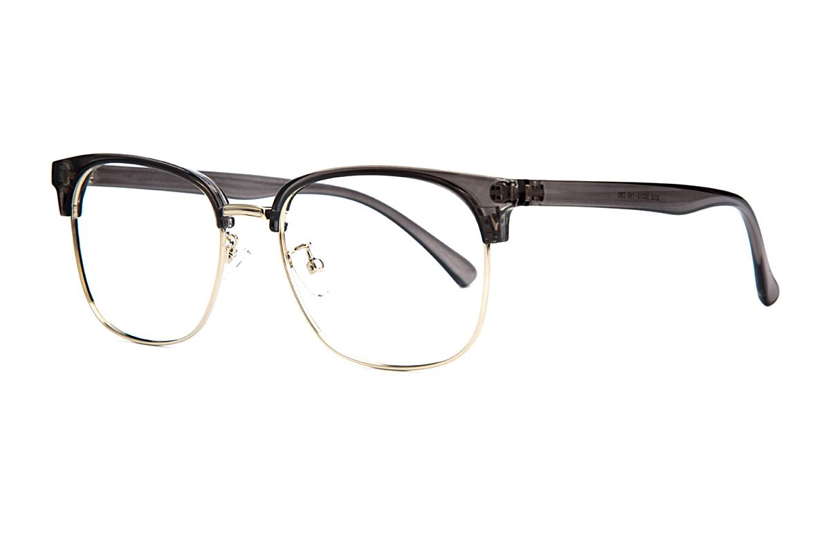 眉架质感眼镜 3038-C601