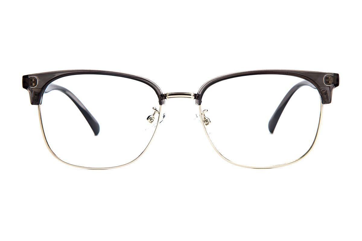 眉架質感眼鏡 3038-C602