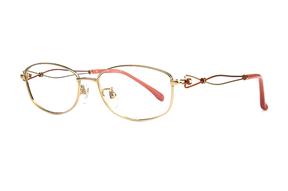 眼镜镜框-高质感女纯钛 11450-C1